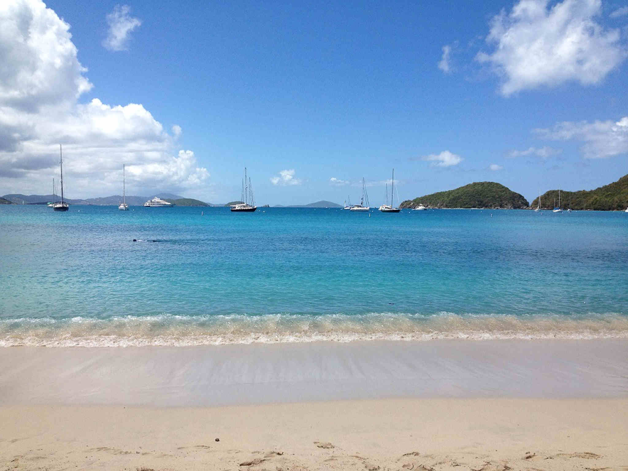 Beach on St. John Island