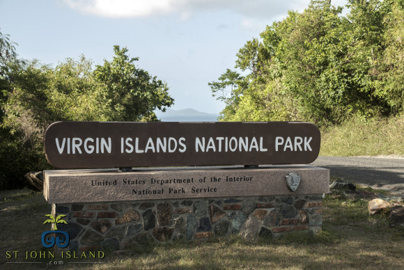 vi national park sign