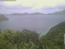 Dreekets Bay / Sir Francis Drake Channel Webcam